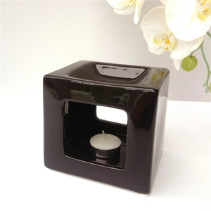 Cubic Ceramic Wax Melter - Black