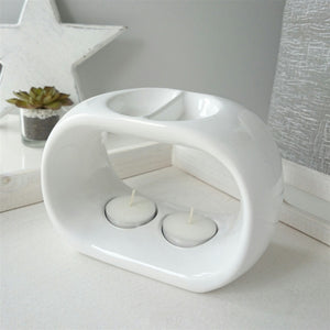 NEXT DUE FEBRUARY Duo Ceramic Wax Melter - White