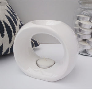 Olympic Ceramic Wax Melter - White