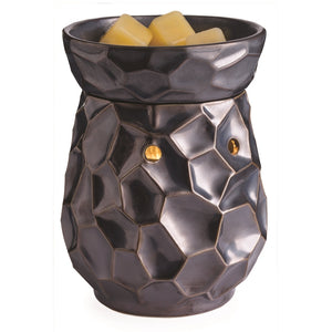 Ceramic Hammered Effect Electric Wax Melter