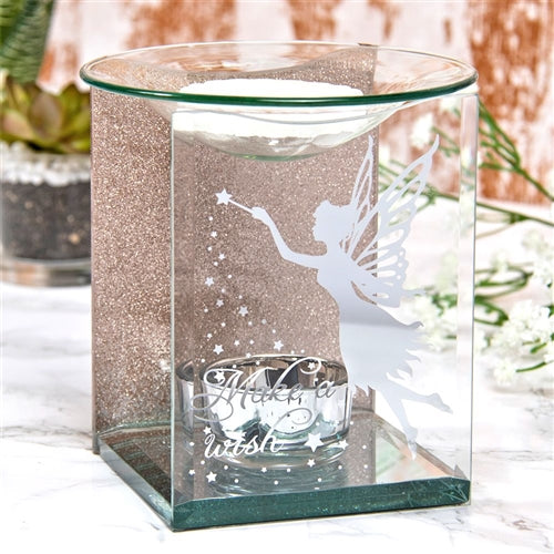DUE MAY Rose Gold Fairy Make A Wish Wax Melter / Oil Burner