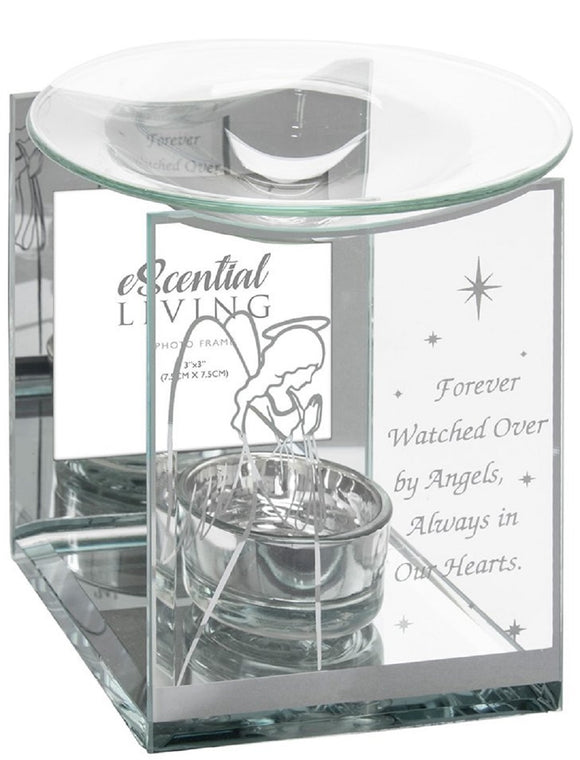 DUE END NOVEMBER Guardian Angel Photo Frame Wax Melter / Oil Burner
