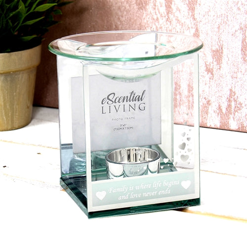 Family Photo Frame Wax Melter / Oil Burner
