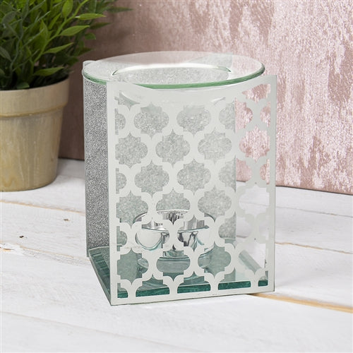 Moroccan Mirror Glass Wax Melter / Oil Burner