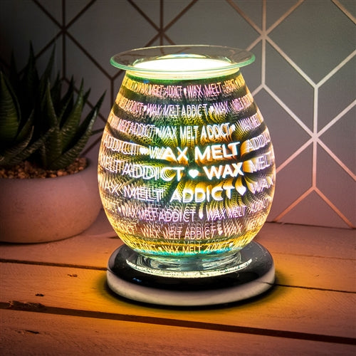 DUE END JANUARY Touch Sensitive Round Aroma Lamp - Wax Melt Addict