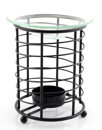 Black Circular Oil Burner