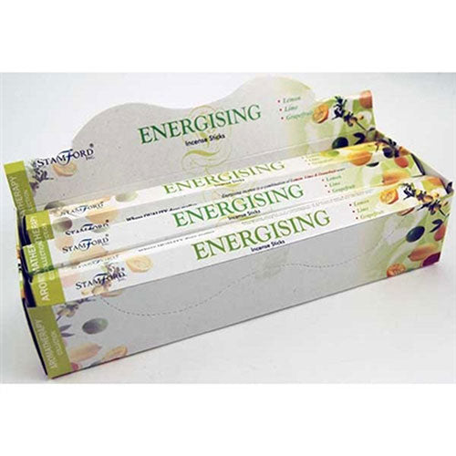 Stamford Energising Incense Sticks x6 Tubes