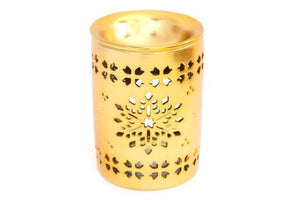 Christmas Gold Cut Out Oil Burner 11.5cm