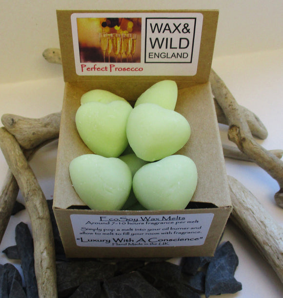Wax & Wild Box of 20 Melts - Perfect Prosecco