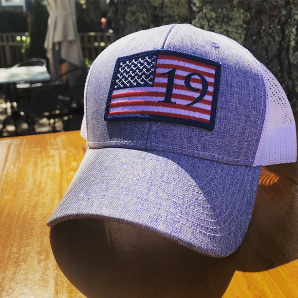 19 Raw USA Trucker Hat