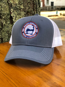 Wash Ashore Beer Company Blue Steel Trucker Hat