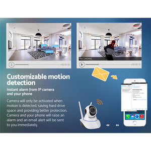 UL-tech Wireless IP Camera CCTV Security System Home Monitor 1080P HD WIFI,Audio & Video > CCTV - Yochi Tech