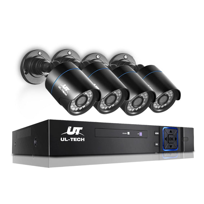 UL Tech 1080P 4 Channel HDMI CCTV Security Camera,Audio & Video > CCTV - Yochi Tech