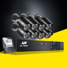 Load image into Gallery viewer, UL-Tech CCTV Security System 2TB 8CH DVR 1080P 8 Camera Sets,Audio & Video > CCTV - Yochi Tech