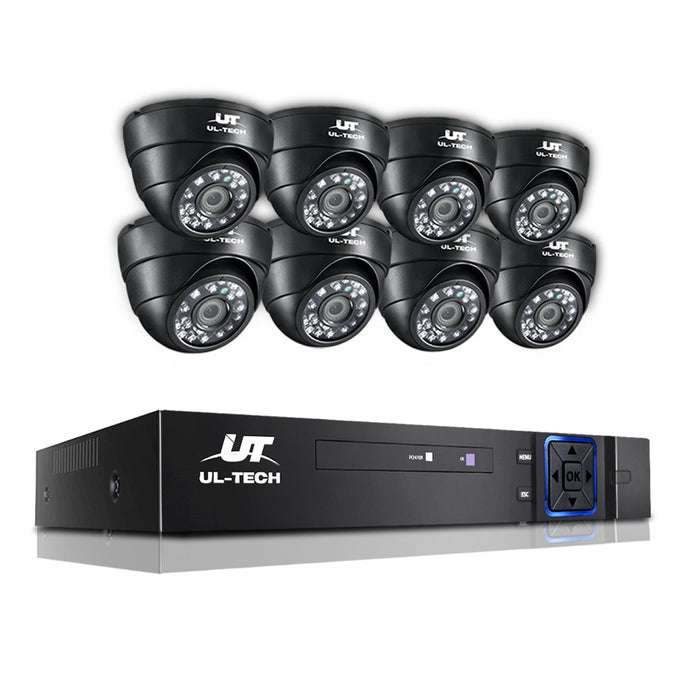 UL Tech 1080P 8 Channel HDMI CCTV Security Camera,Audio & Video > CCTV - Yochi Tech