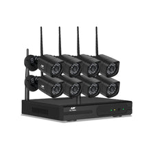 Load image into Gallery viewer, UL-TECH 1080P 8CH NVR Wireless 8 Security Cameras Set,Audio & Video > CCTV - Yochi Tech