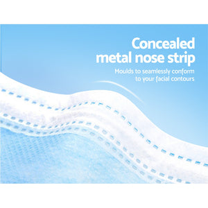 Disposable Face Mask Anti Flu Dust Masks Anti PM2.5 3-Layer Protective 150PCS AU Stock,Health & Beauty > Personal Care - Yochi Tech