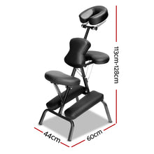 Load image into Gallery viewer, Zenses Massage Chair Massage Table Aluminium Portable Beauty Therapy Bed Tattoo Waxing,Health & Beauty > Massage - Yochi Tech