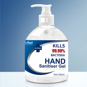 Relifeel Hand Sanitiser 2L 500mL x4 72% Alcohol Sanitizer Gel Instant Wash,Health & Beauty > Personal Care - Yochi Tech