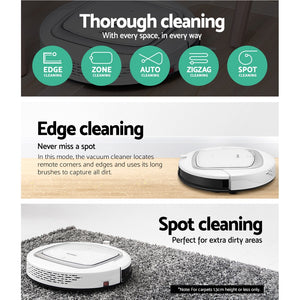 Eureka Robot Robotic Vacuum Cleaner Auto-Recharge Remote Control,Appliances > Vacuum Cleaners - Yochi Tech