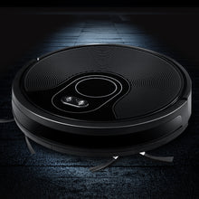 Load image into Gallery viewer, Robot Vacuum Cleaner Smart Robotic Carpet Mop Floor Dry Wet Brushless Motor Black,Appliances > Vacuum Cleaners - Yochi Tech
