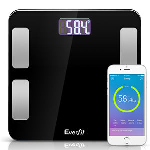 Digital Body Fat Scale - Black,Health & Beauty > Personal Care - Yochi Tech