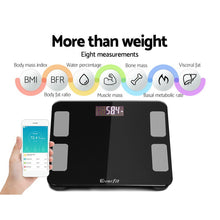 Load image into Gallery viewer, Digital Body Fat Scale - Black,Health & Beauty > Personal Care - Yochi Tech
