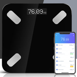 Everfit Electronic Digital Bathroom Body Fat Scale Scales Bluetooth 180KG BMI,Health & Beauty > Personal Care - Yochi Tech