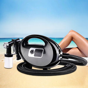 Professional Spray Tan Machine Sunless Tanning Gun Kit HVLP System Black,Health & Beauty > Spray Tan - Yochi Tech