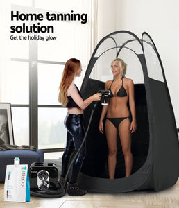 Alba. Spray Tan Machine Spray Tan Tent Kit 1L Solution Sunless HVLP Black,Health & Beauty > Spray Tan - Yochi Tech