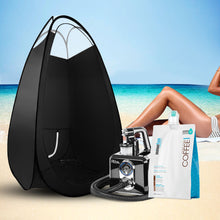 Load image into Gallery viewer, Alba. Spray Tan Machine Spray Tan Tent Kit 1L Solution Sunless HVLP Black,Health & Beauty > Spray Tan - Yochi Tech