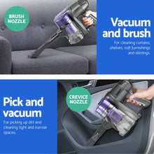 Load image into Gallery viewer, Devanti Corded Handheld Bagless Vacuum Cleaner - Purple and Silver,Appliances > Vacuum Cleaners - Yochi Tech