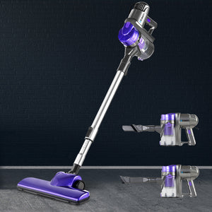 Devanti Corded Handheld Bagless Vacuum Cleaner - Purple and Silver,Appliances > Vacuum Cleaners - Yochi Tech