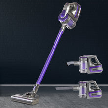 Load image into Gallery viewer, Devanti 150 Cordless Handheld Stick Vacuum Cleaner 2 Speed   Purple And Grey,Appliances > Vacuum Cleaners - Yochi Tech