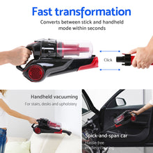 Load image into Gallery viewer, Devanti Bagless Handstick Vacuum Cleaner,Appliances > Vacuum Cleaners - Yochi Tech
