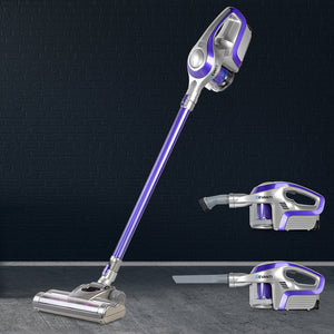 Devanti Cordless Stick Vacuum Cleaner - Purple & Grey,Appliances > Vacuum Cleaners - Yochi Tech