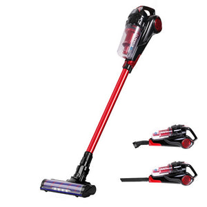 Devanti Cordless Handstick Vacuum Cleaner - Black and Red,Appliances > Vacuum Cleaners - Yochi Tech