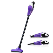 Load image into Gallery viewer, Devanti 120W Cordless Stick Vacuum Cleaner Handheld Handstick Vac Rechargeable Purple and Black,Appliances > Vacuum Cleaners - Yochi Tech