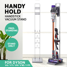 Load image into Gallery viewer, Freestanding Dyson Vacuum Stand Rack Holder Cordless Handheld Cleaner V6 7 8 V10 V11 Silver,Appliances > Vacuum Cleaners - Yochi Tech