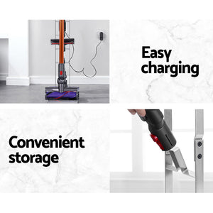 Freestanding Dyson Vacuum Stand Rack Holder Cordless Handheld Cleaner V6 7 8 V10 V11 Silver,Appliances > Vacuum Cleaners - Yochi Tech