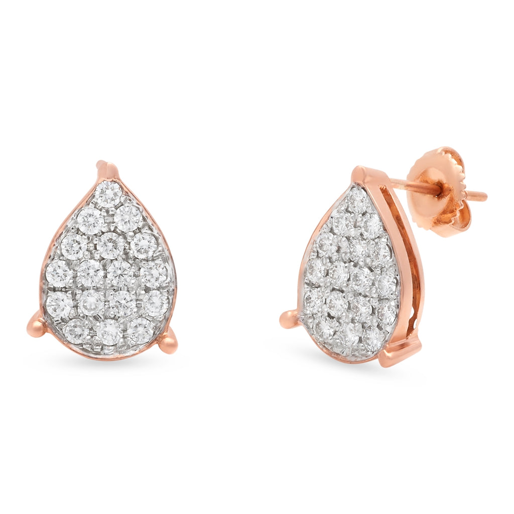 Diamond Droplets Earrings