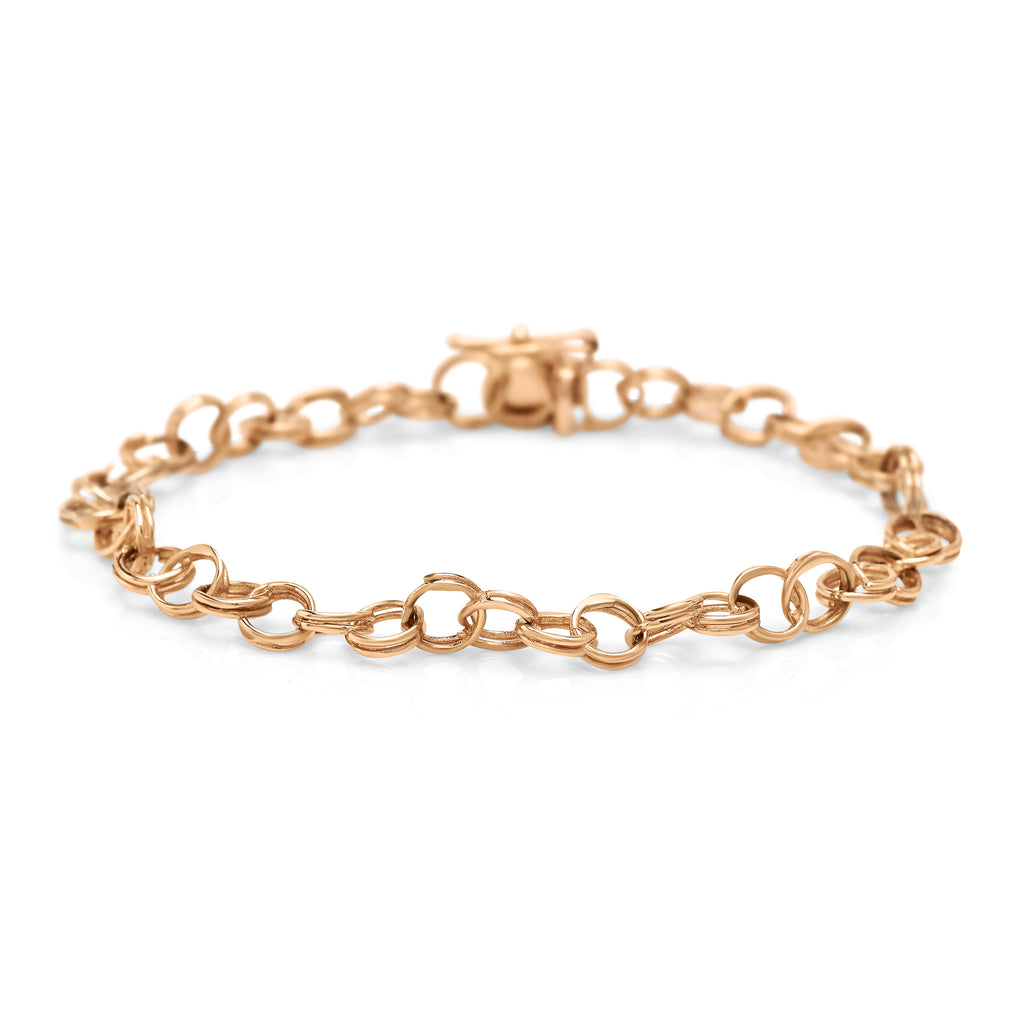 Rose Gold Cirque Chainlink Bracelet
