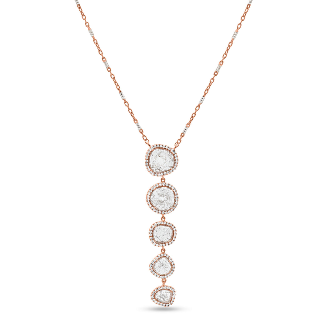 Mariela Multi-Slice Necklace