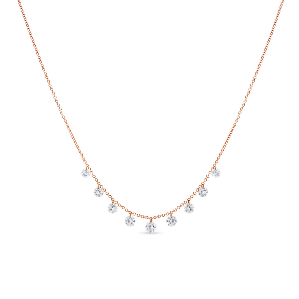 Diamond Drilled Necklace