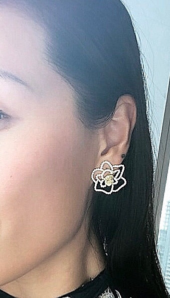 Camillia Cutout Earrings