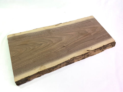 Live Edge Walnut Charcuterie Board Blanks With Wormholes | De-barked