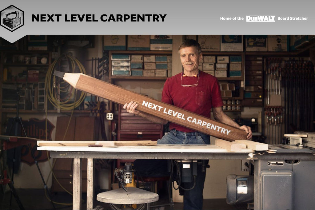 Next Level Carpentry Logo Photo