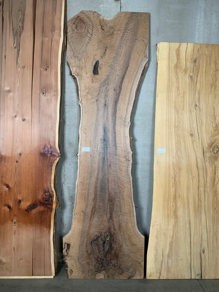 "Bastogne Walnut Live Edge Slab (2"" x 28 - 41"" x 135"")"
