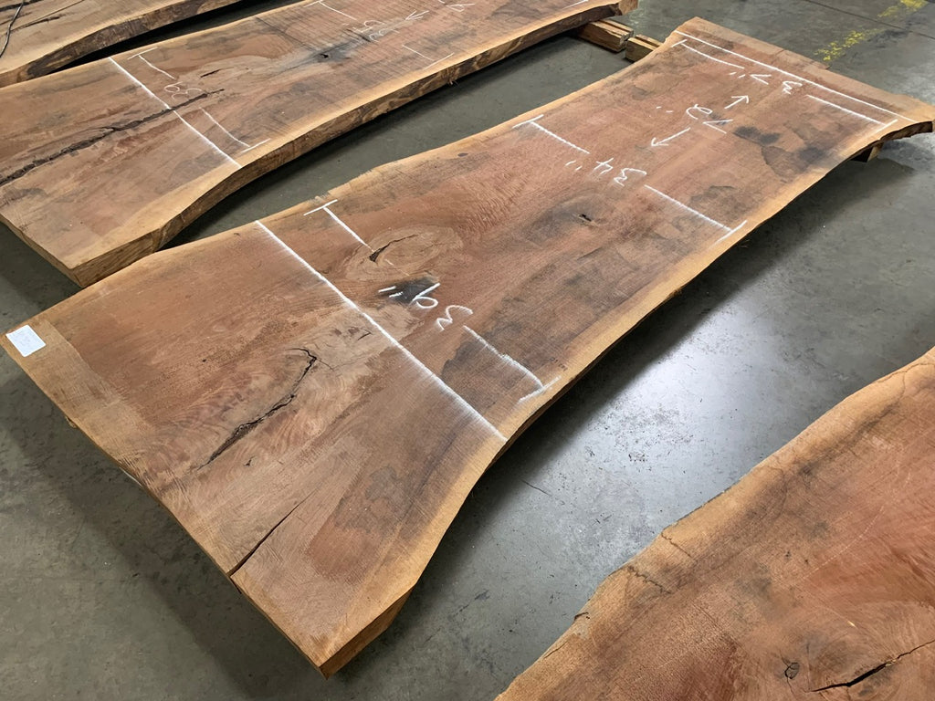 "Black Walnut Slab #10899 (99"" x 33"" - 46"" x 2.5"")"