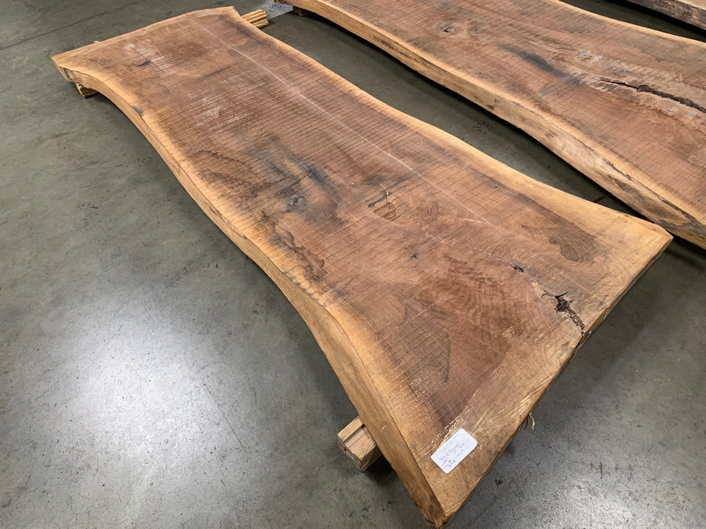 "Black Walnut Slab #10904 (97"" x 32"" - 39"" x 2.5"")"